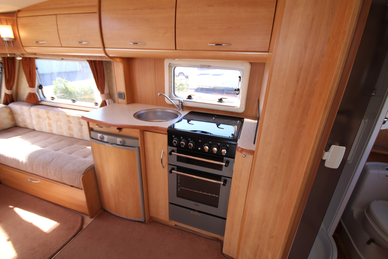 Kina Campers 7 2 berth Ace Award Brightstar end bathroom