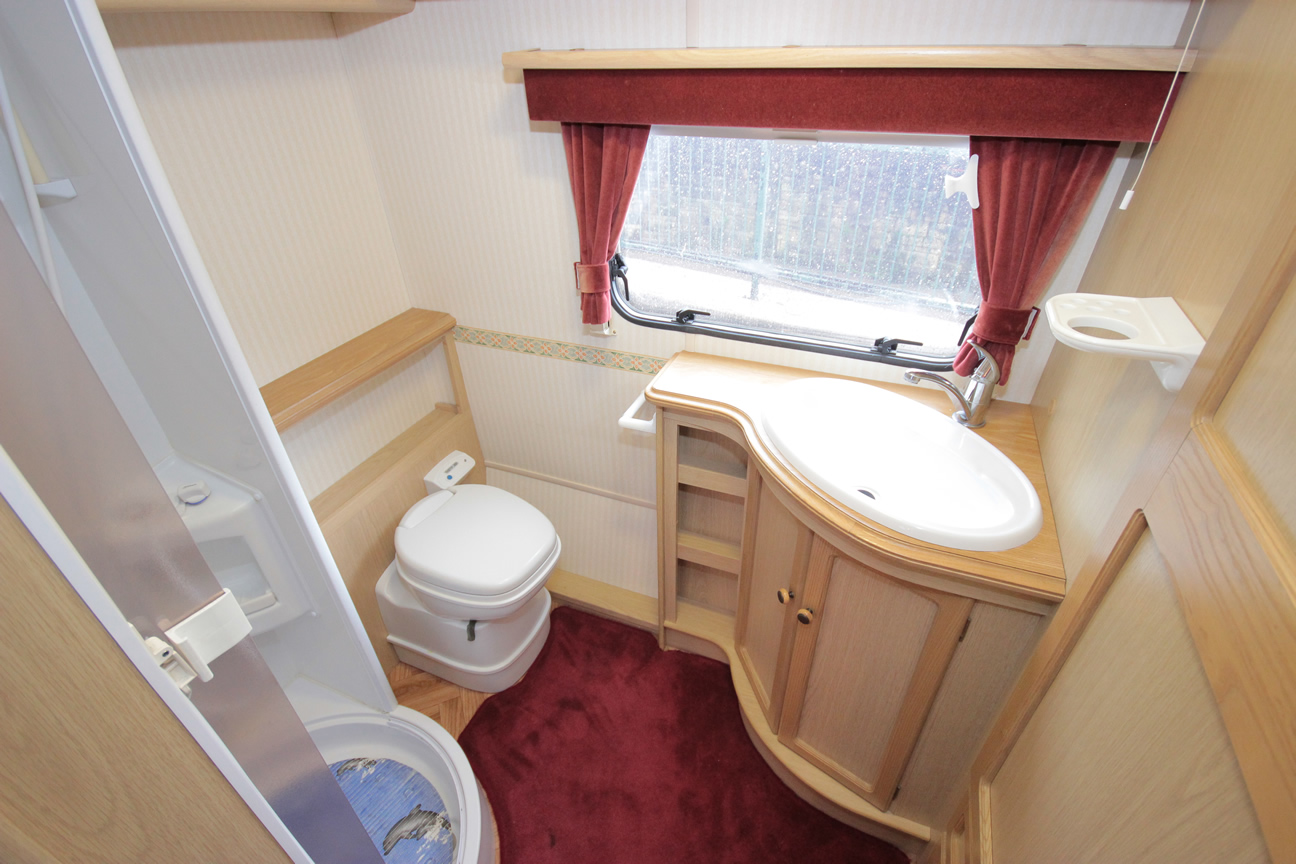 Kina Campers 031 2 berth large end bathroom Sterling Eccles Topaz