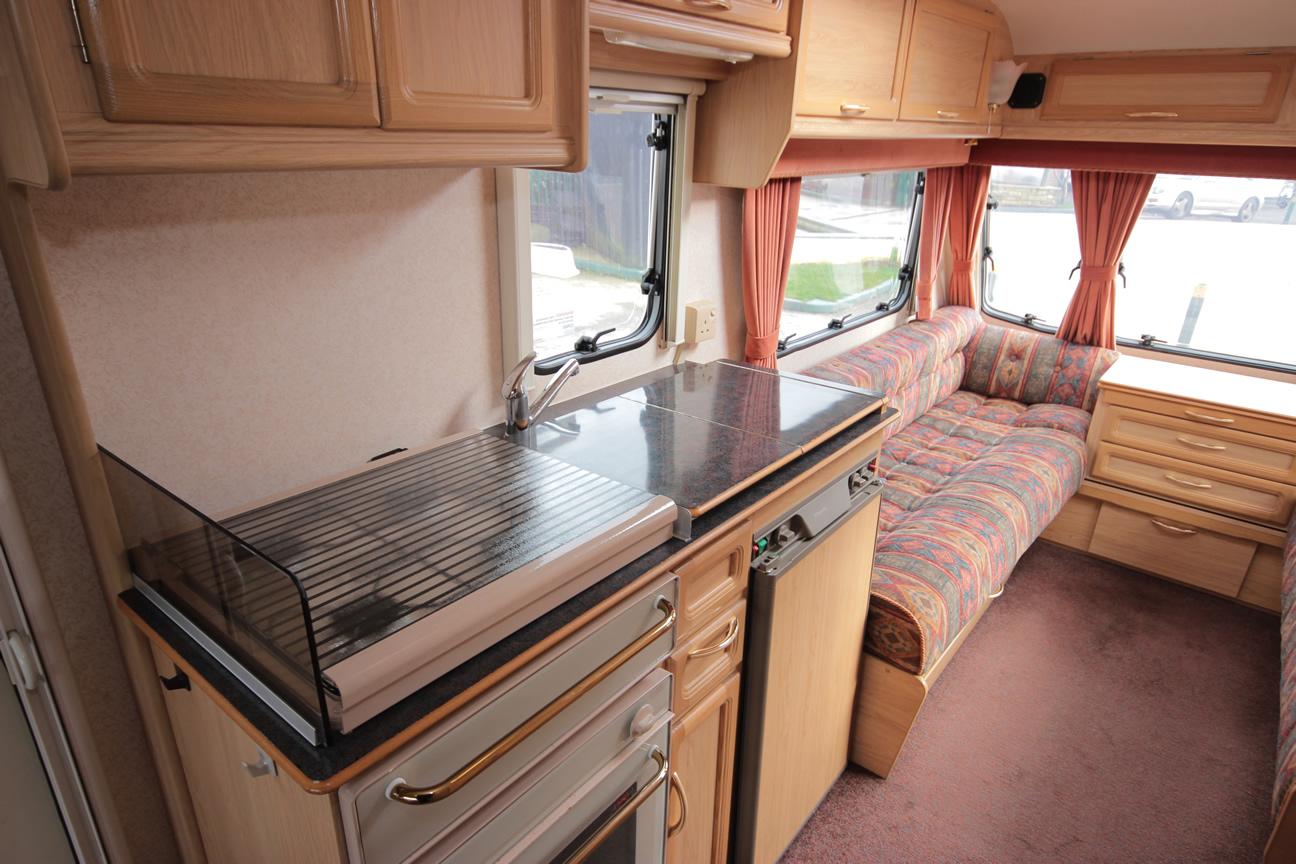 Kina Campers 44411 4/5 berth Abbey Caernarfon