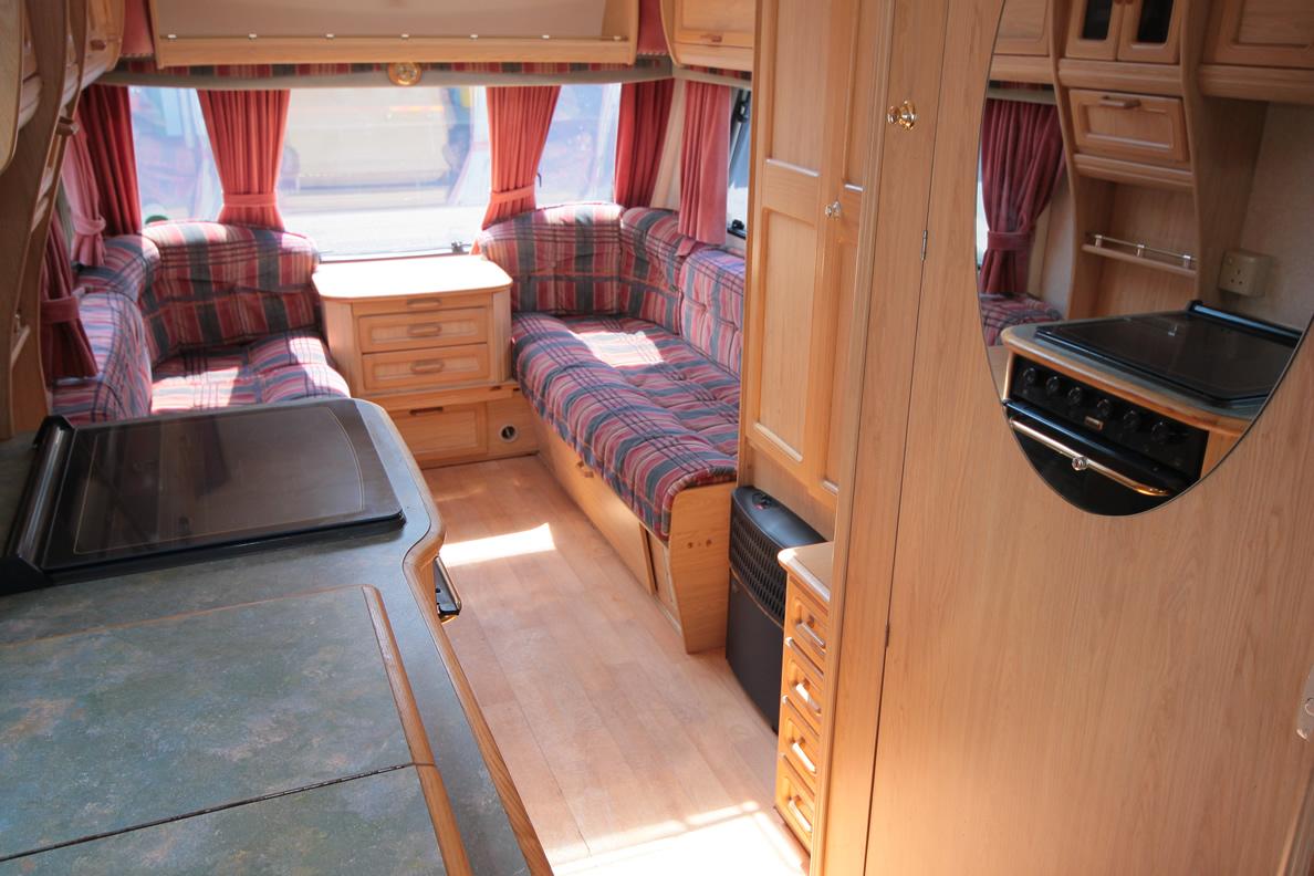 Kina Campers 110 Caravan 4/5 berth large 26 Abbey Spectrum 520